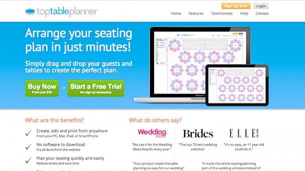 10 Amazing Apps to Simplify Wedding Planning Top table planner