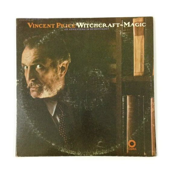 Vincent Price Quot Witchcraft Magic An Adventure In