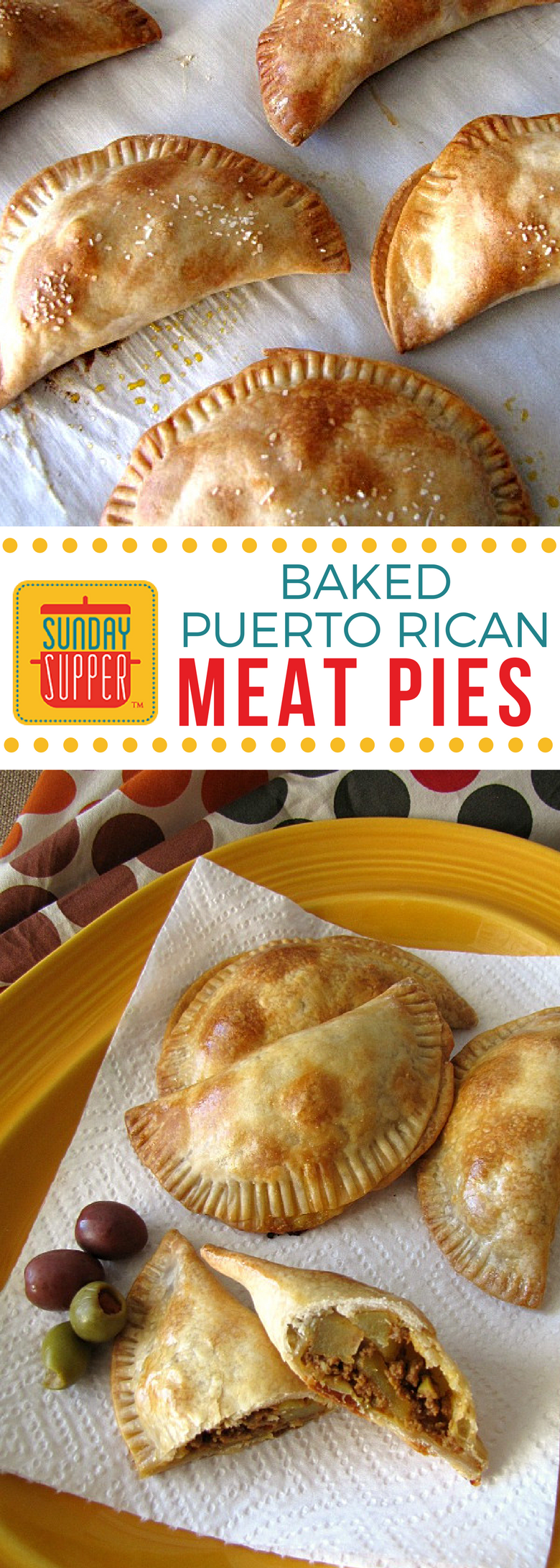 Baked Puerto Rican Meat Pies Are A Version Of The Fried