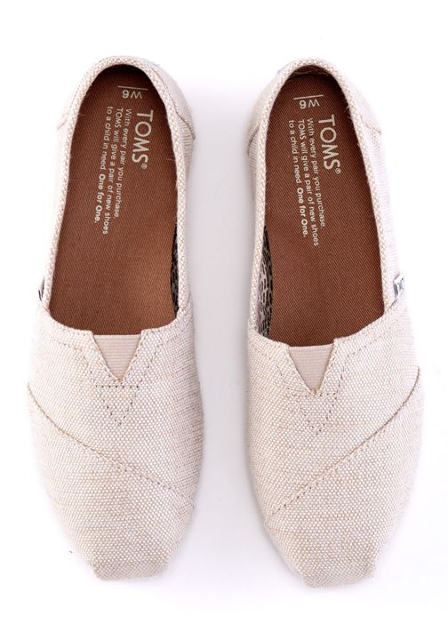 1fb338b5b5f Show off your TOMS with a little shimmer. Featuring metallic burlap