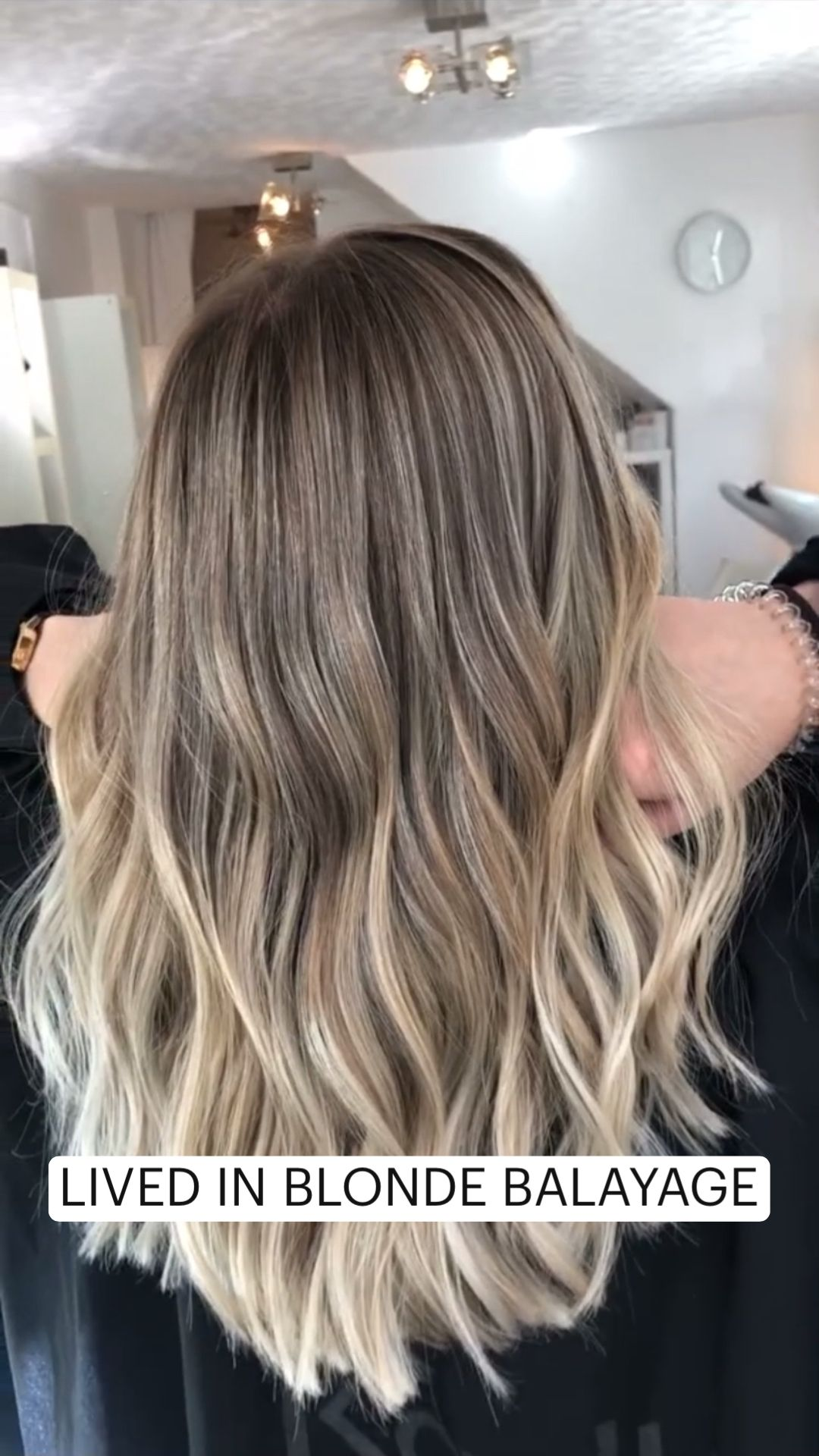 LIVED IN BLONDE BALAYAGE hair colour ideas ash whi