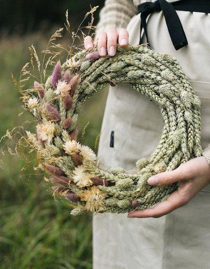 Photo of Trendy Flowers Wreath Dry 17+ Ideas