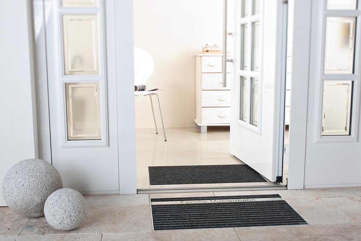Aco Schuhabstreifer Fur Innen Und Aussen Fur Einen Gepflegten Eingangsbereich Eingang Haus Haus Aussen
