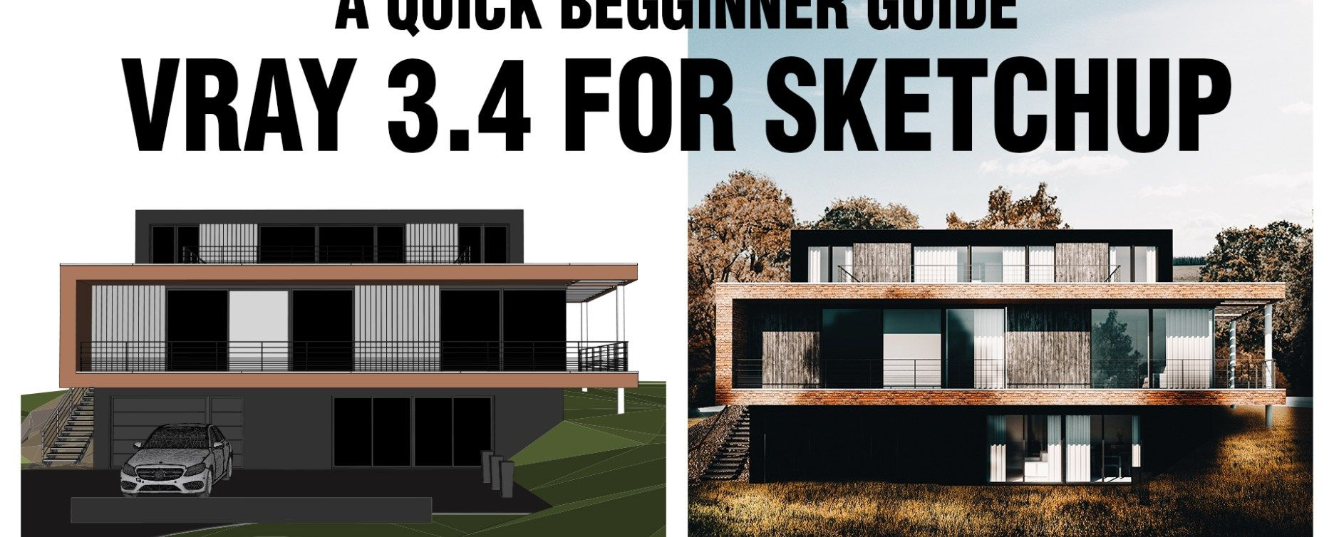 Vray 3 4 For Sketchup Beginners Quick Start Arquitectura