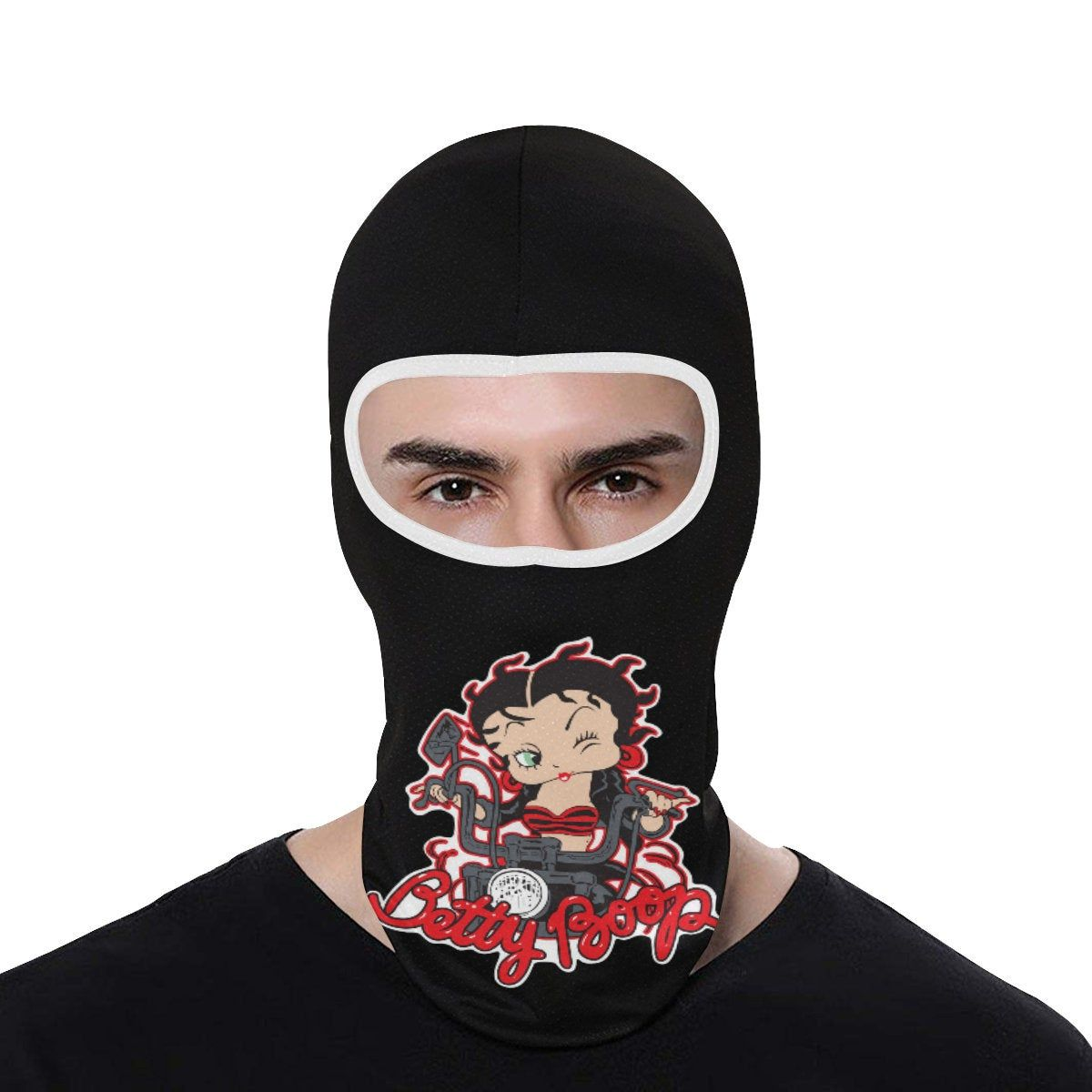 Betty boop full face mask cover cold weather accessories