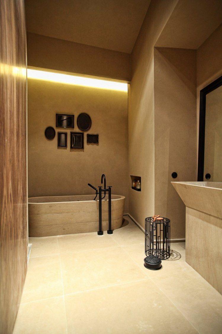 schones badezimmer, beispiel fÜr farbgebung ton-in-ton -> elegante wirkung schönes, Design ideen