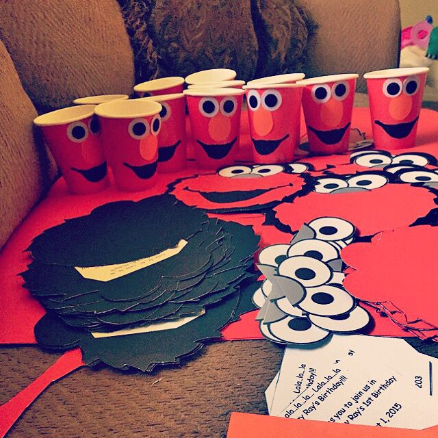 Do it yourself elmo invitations made by me and my boyfriend do it yourself elmo invitations made by me and my boyfriend solutioingenieria Choice Image