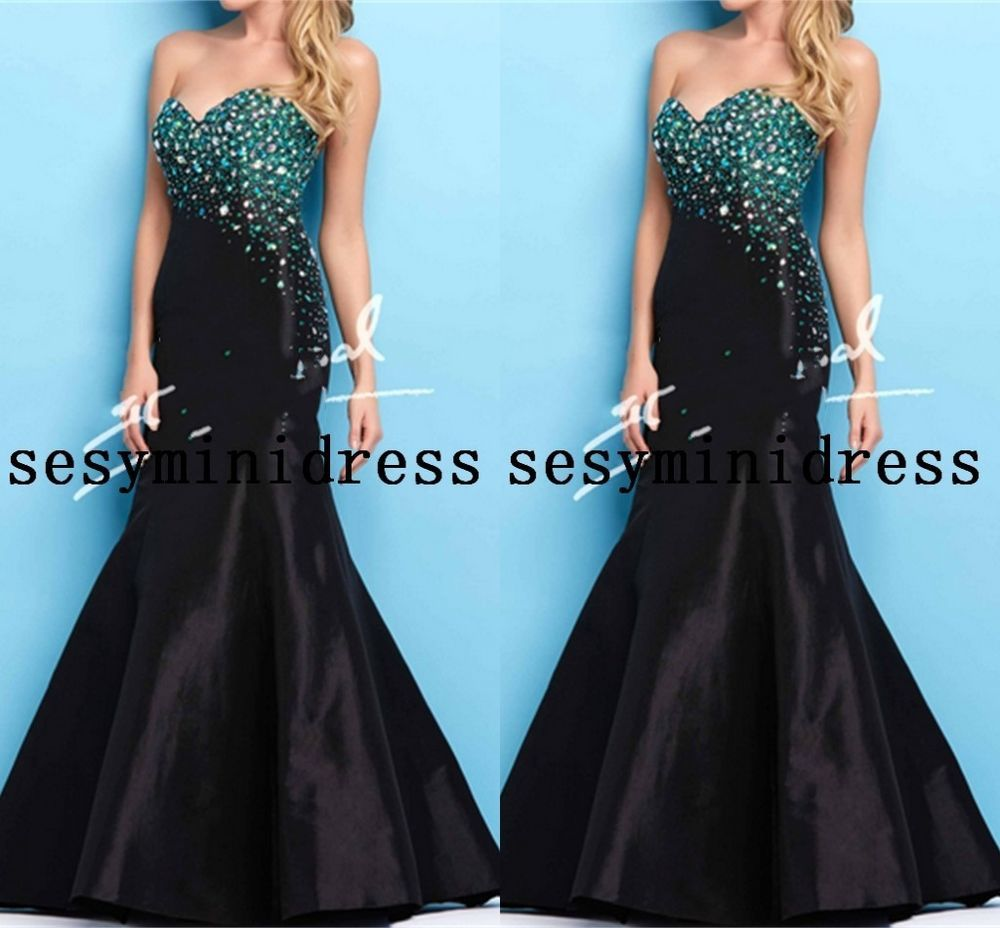 celebrity evening dress sexy mermaid beaded pageant formal