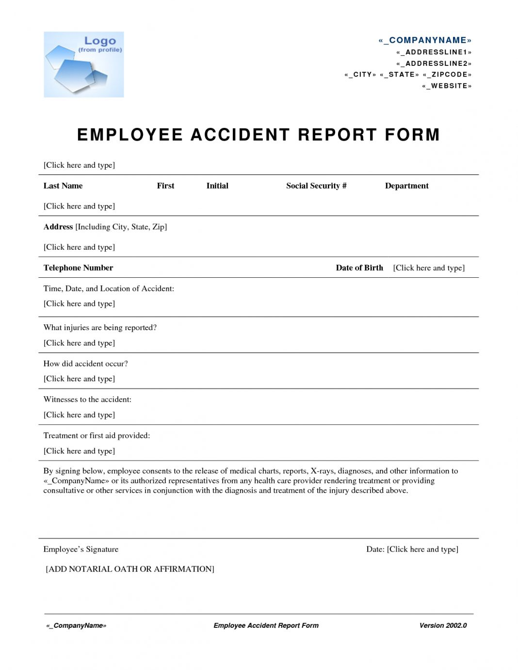 Employee incident report sample examples letter tagalog