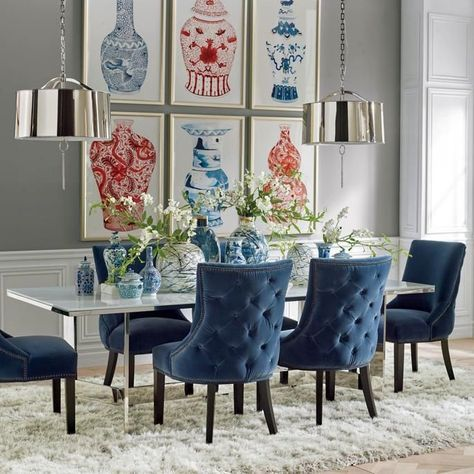 Barclay Tufted Dining Chair | Frontgate