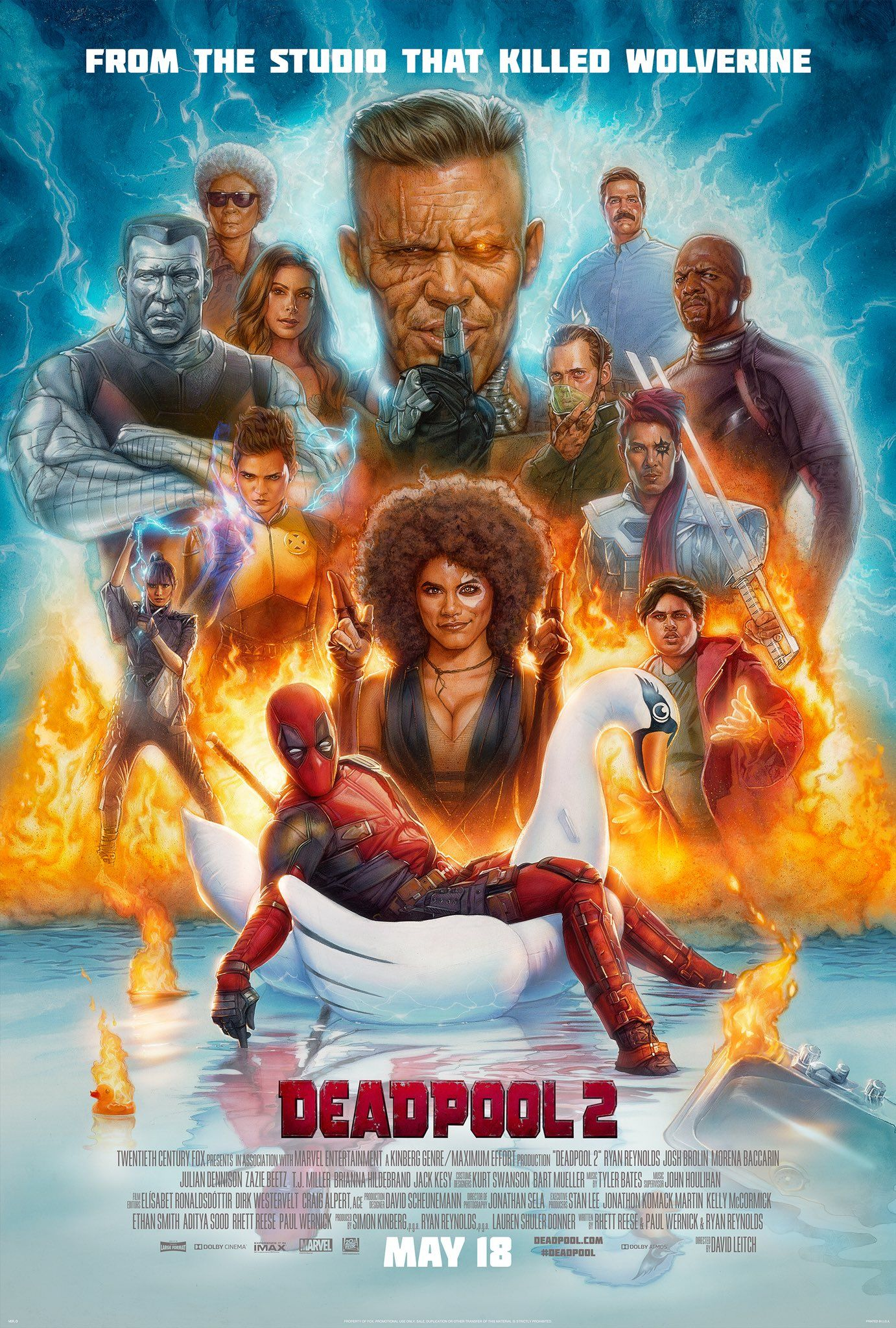 Ryan Reynolds On Twitter May 18 Tickets At Https T Co W2cjp46in9 Deadpool2 Deadpool 2 Movie Deadpool 2 Poster 2018 Movies