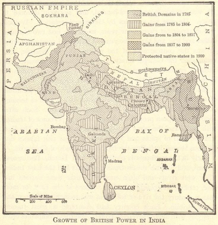 Imperialism on the Indian subcontinent British control of India