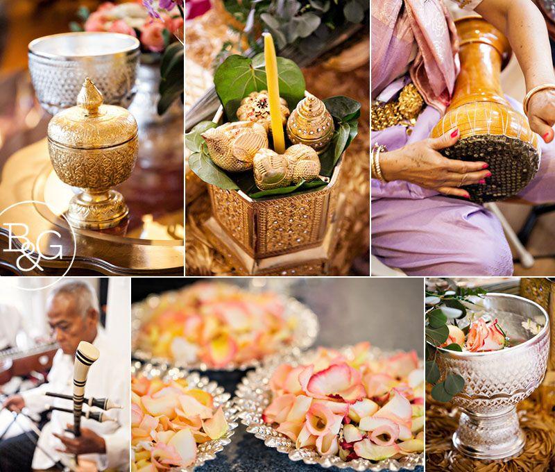 Alice & Richard, Khmer Cambodian Wedding Ceremony, Los