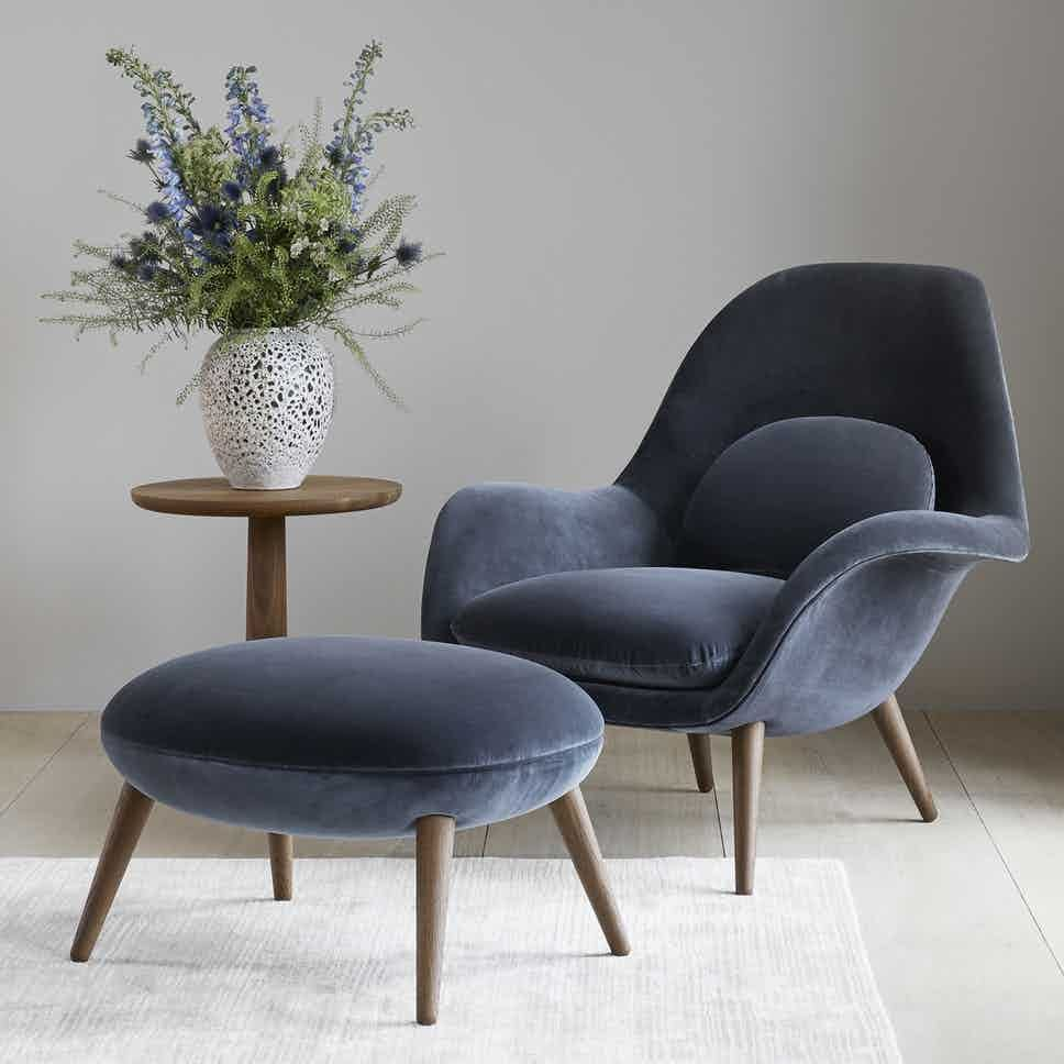 Swoon Armchair By Fredericia Furniture Lounge Chairs Living Room Armchair Furniture Armchairs Living Room Modern