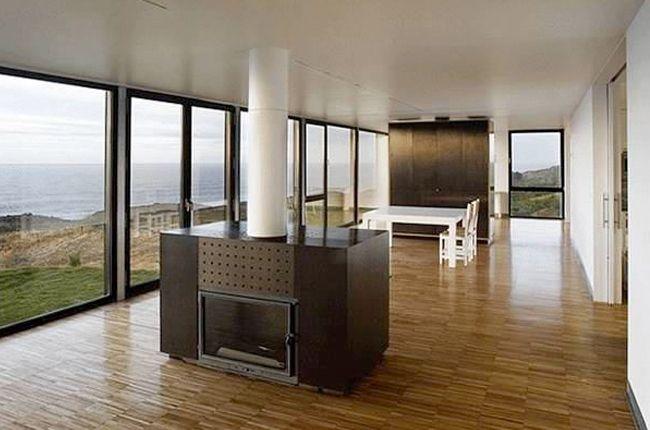 int rieur de maison container moderne et lumineux. Black Bedroom Furniture Sets. Home Design Ideas