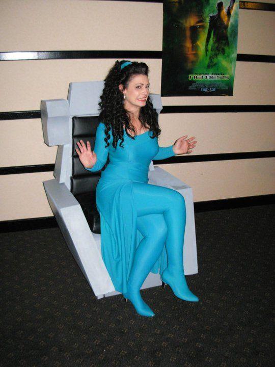 Deanna Troi Uniform Costume