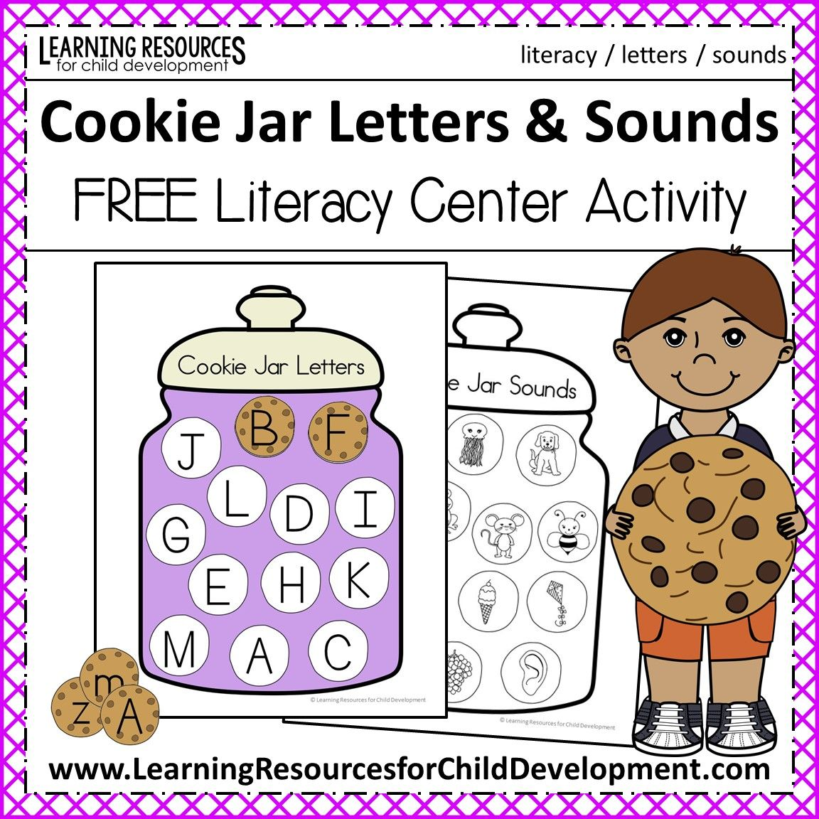 Cookie Jar Letters And Sounds