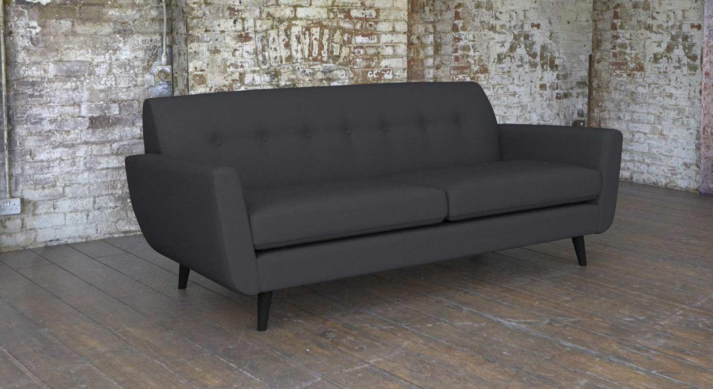 Borough Large 3 Seater Fabric Sofa