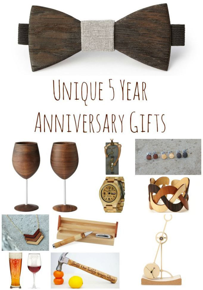Unique 5 Year Anniversary Gifts Peony And Pine More