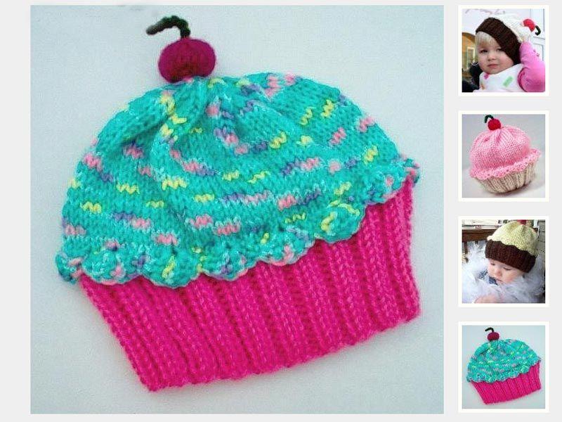 Cupcake Hat Pattern   Crochet cupcake hat, Crochet cupcake ...