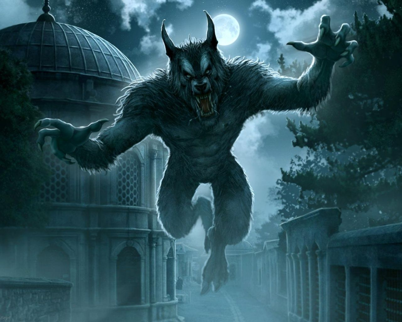 ancient werewolf wallpaper - photo #6