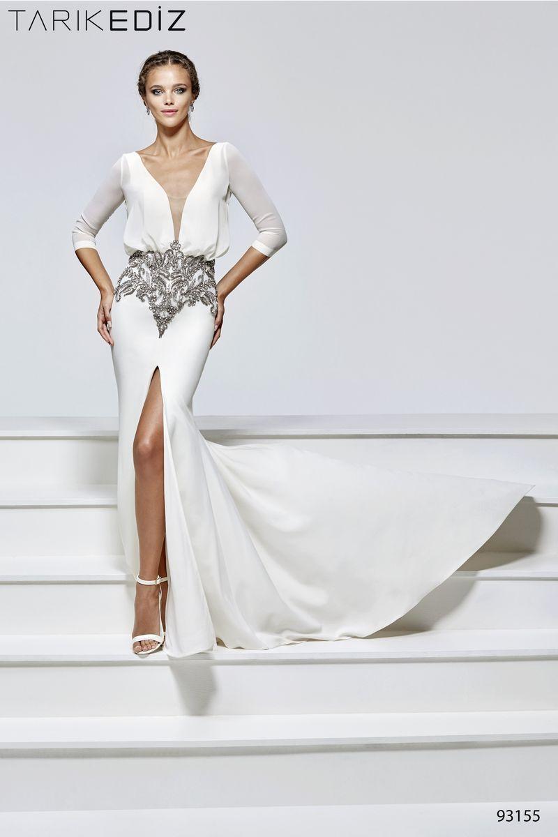 Suknie wieczorowe - Tarik Ediz - Madonna   Wedding   Pinterest