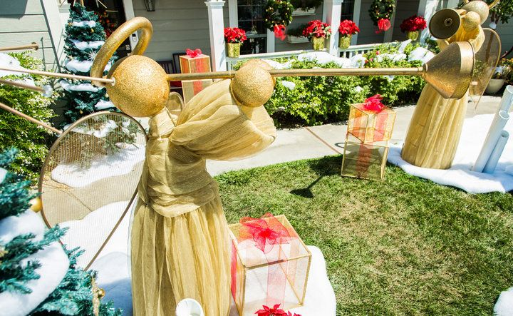 DIY Giant Yard Angel-Home  Family Home  Family- DIY Pinterest - outdoor angel christmas decorations