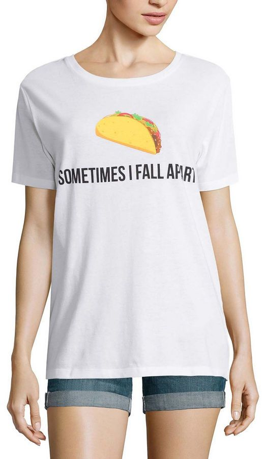 972588f8c Sometimes I fall apart Taco Tshirt #nationaltacoday #affiliatepost ...