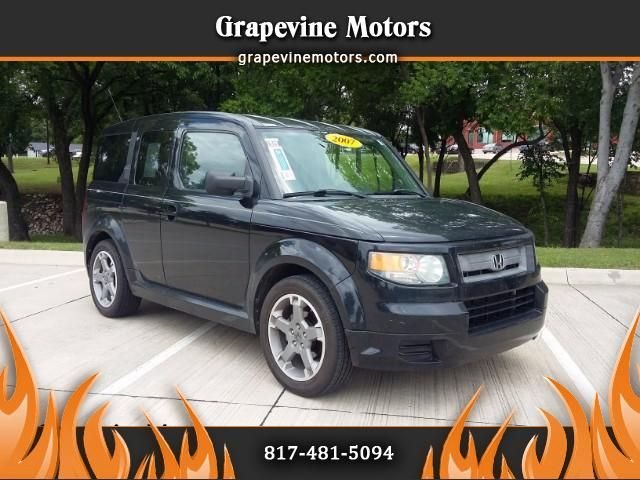 Used 2007 Honda Element SC 2WD AT for Sale in Grapevine TX 76051 Grapevine Motors