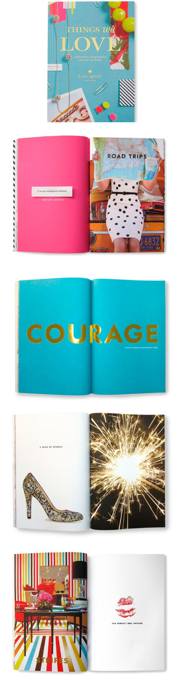 {things we love : kate spade}; Can't find where to buy it from :( but what I can see already is inspiring!