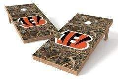 Cincinnati Bengals Single Cornhole Board - Realtree Max-5® Camo