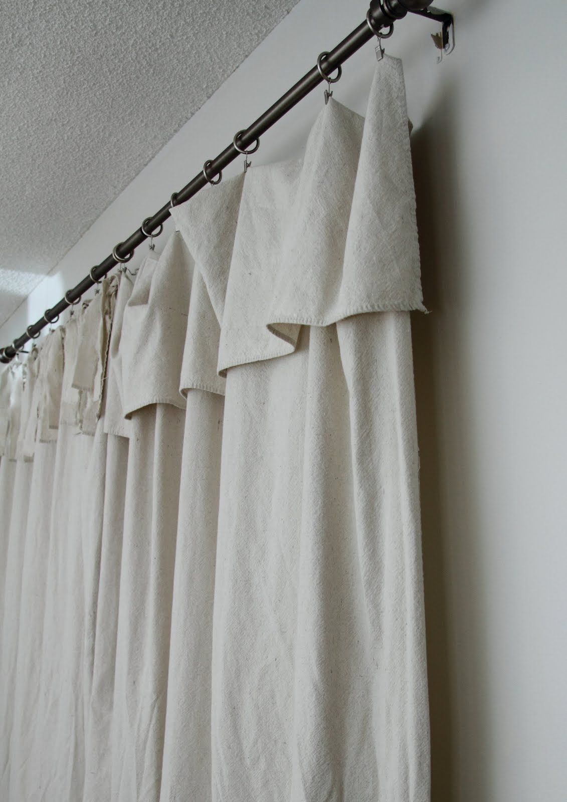 Image Result For Curtains With Large Fold Over Top Diy Curtains
