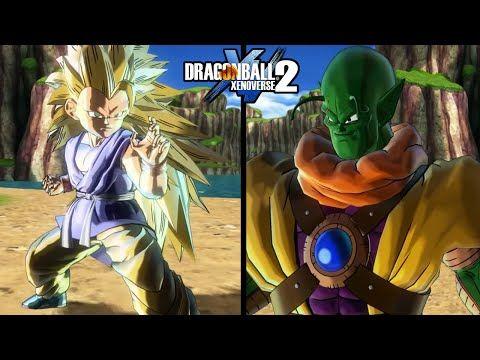 Dragon Ball Xenoverse 2 Goku Gt Super Saiyajin 3 Vs Trunks Slug En Combate Gameplay Rafyta Dragon Ball Character Skeletor
