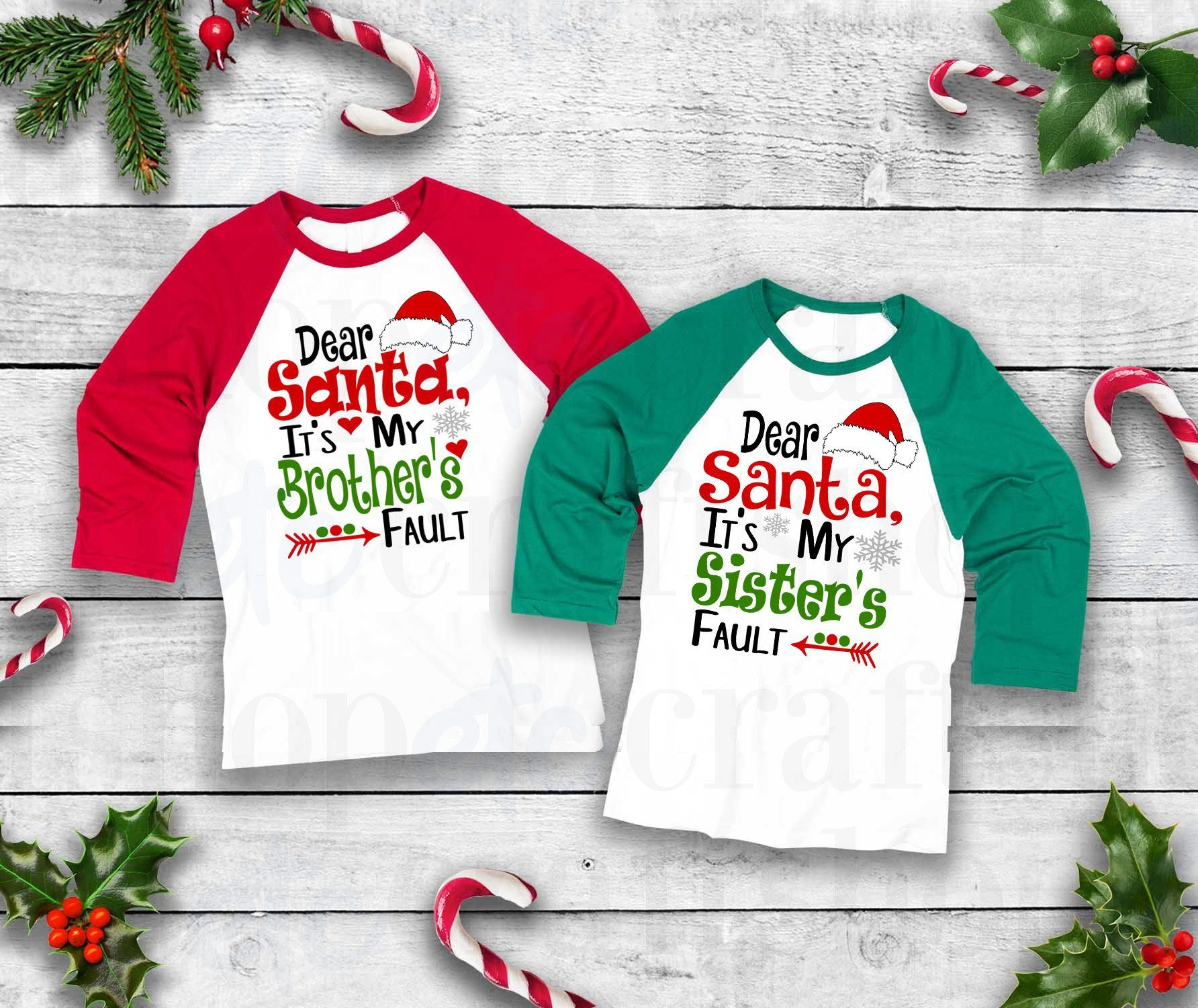 2e94b244e08d3 Dear Santa | It's My Sisters Fault | It's My Brothers Fault | Dear ...