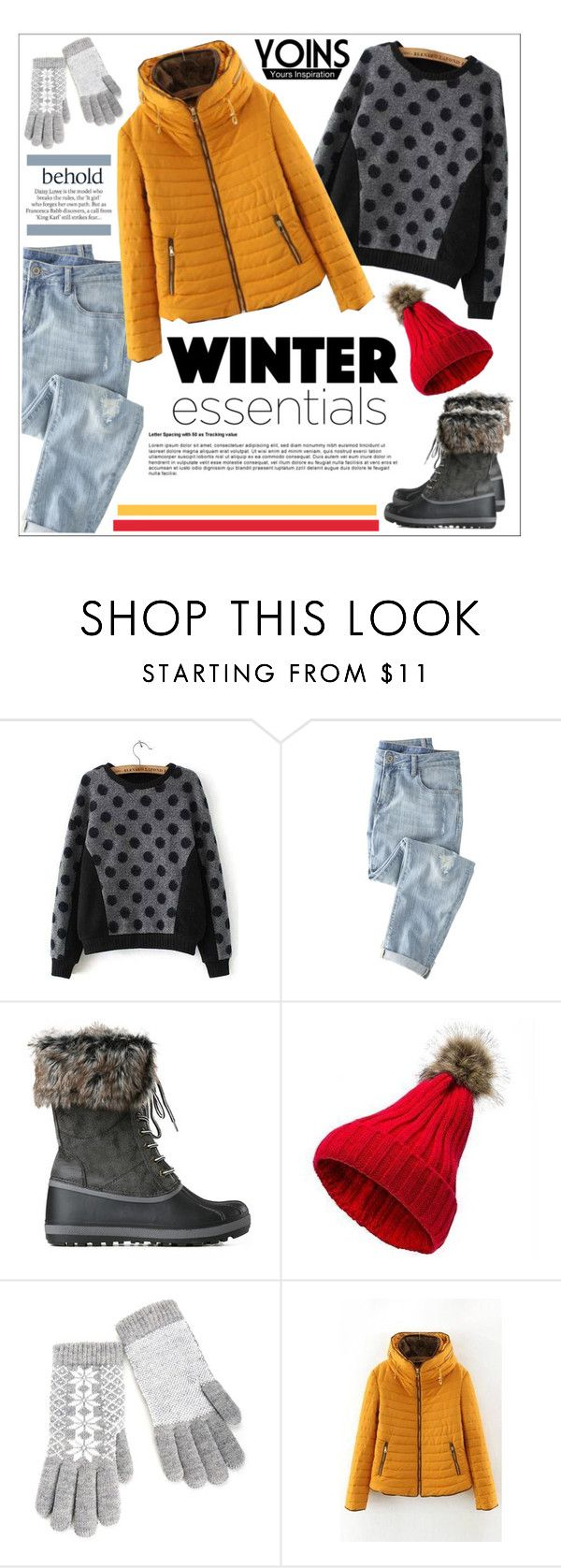 """Yoins"" by water-polo ❤ liked on Polyvore featuring мода, Wrap, ASOS, polyvoreeditorial и yoins"