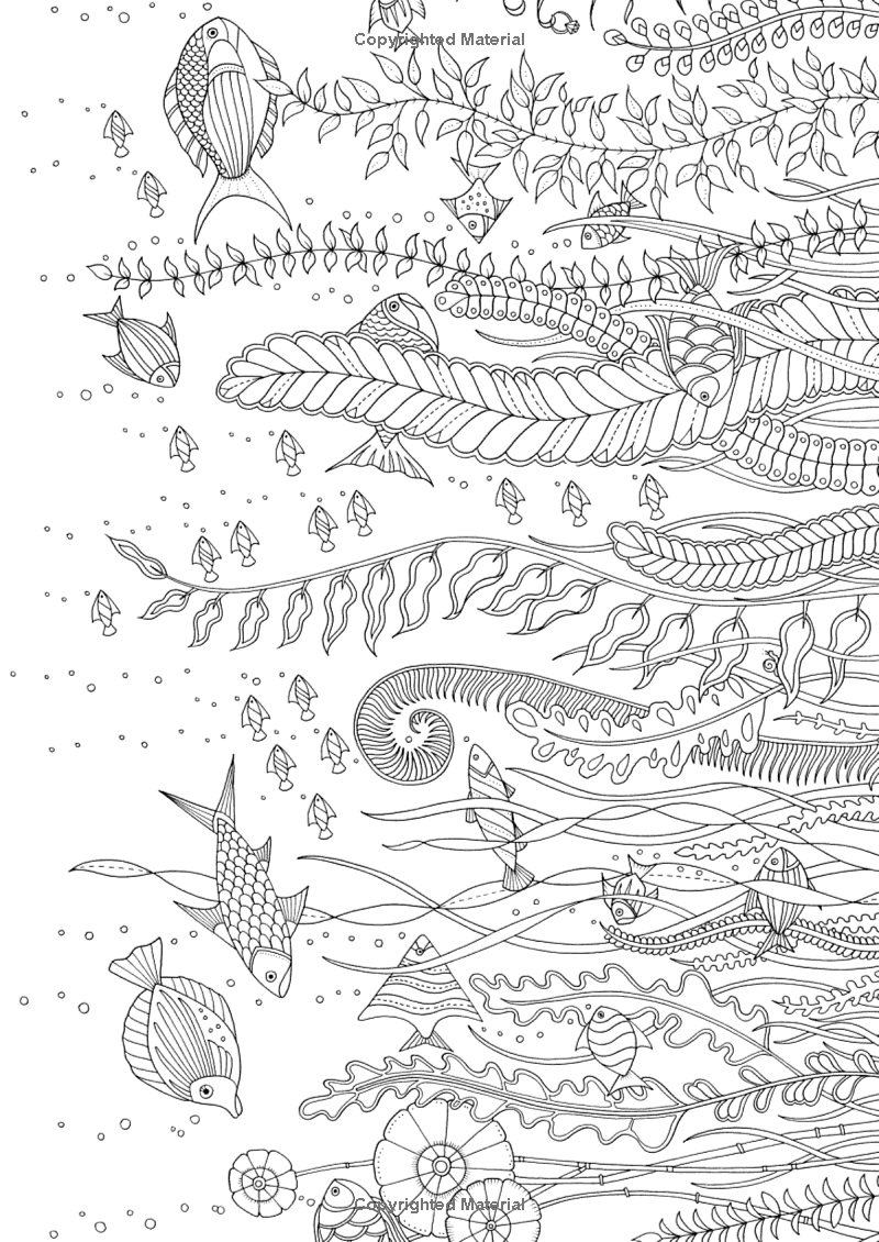 Lost Ocean 36 Postcards To Color And Send 9780143110217 Johanna Basford Lost Ocean Coloring Book Johanna Basford Coloring Book Coloring Book Art