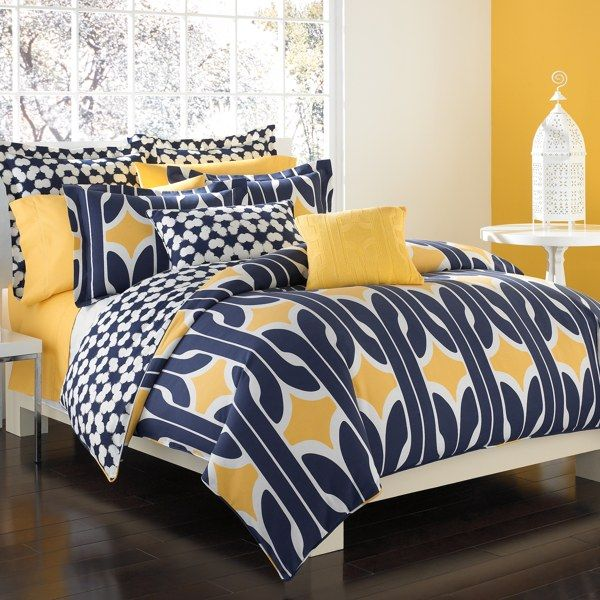 Dvf Bedspread From Bed Bath And Beyond Yes Please Yellow Bedroom
