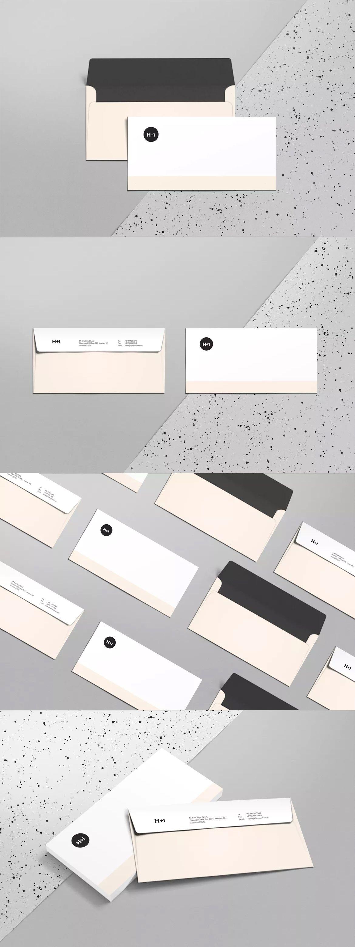DL Envelope Template InDesign INDD | Envelope Templates | Pinterest ...