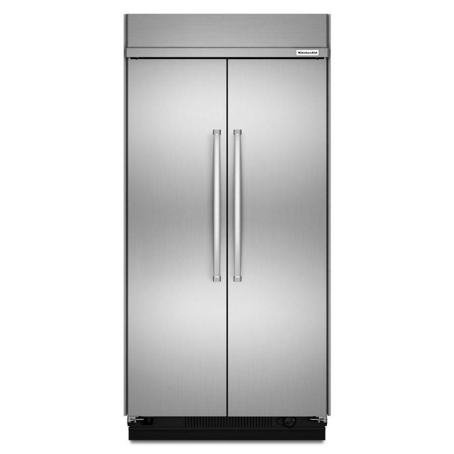 Kitchenaid 30cu ft builtin sidebyside refrigerator