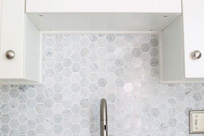 hexagon tile backsplash 60s kitchen kitchen tiles kitchen reno hexagon