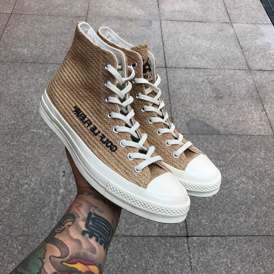 Converse And Golf Le Fleur Tease Hemp Vibes Chuck Taylor Golf Le Fleur Shoes Sneakers Fashion Converse