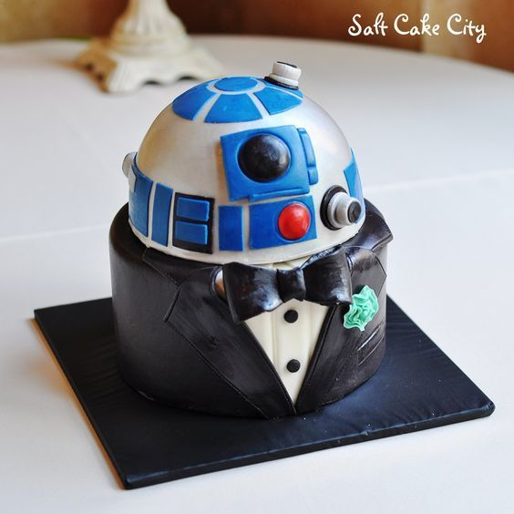 Seriously Awesome Groom's Cakes