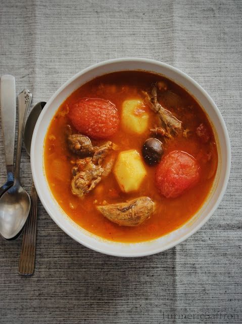 Turmeric & Saffron: Abgousht - Traditional Iranian Lamb Stew