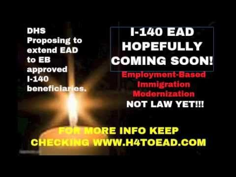 I-140 EAD, H4 EAD, H1B and other immigration questions | H4