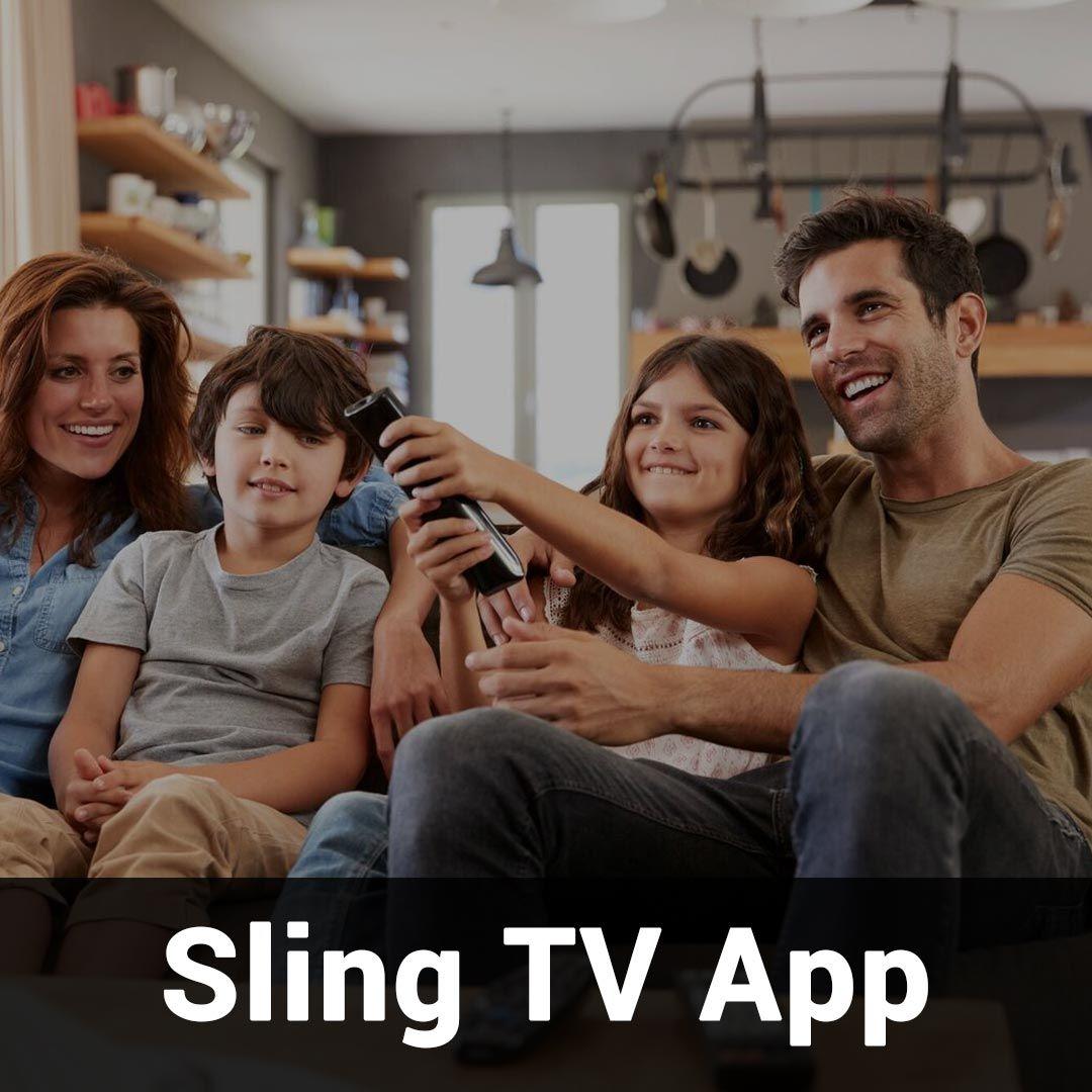 Sling TV App Tv app, Sling tv, Tv services
