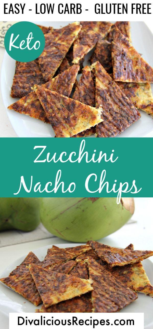 Keto Zucchini Nachos - Divalicious Recipes
