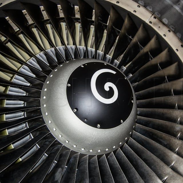 cfm56 at @alaskaair during a tour back when I was in A\P school - turbine engine mechanic sample resume
