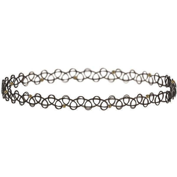 Miss Selfridge Beaded Tattoo Choker Pack (€14) ❤ liked on Polyvore featuring jewelry, necklaces, accessories, fillers, choker, black, beaded necklaces, beaded choker, tattoo jewelry and beaded choker necklace