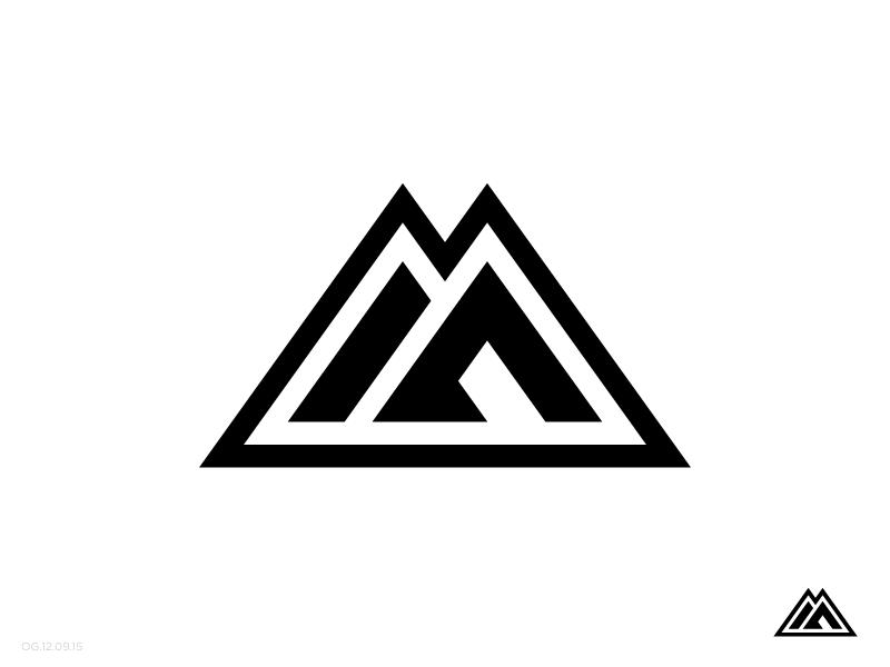 Mountain Logo | Mountain logos, Logos and Logo branding