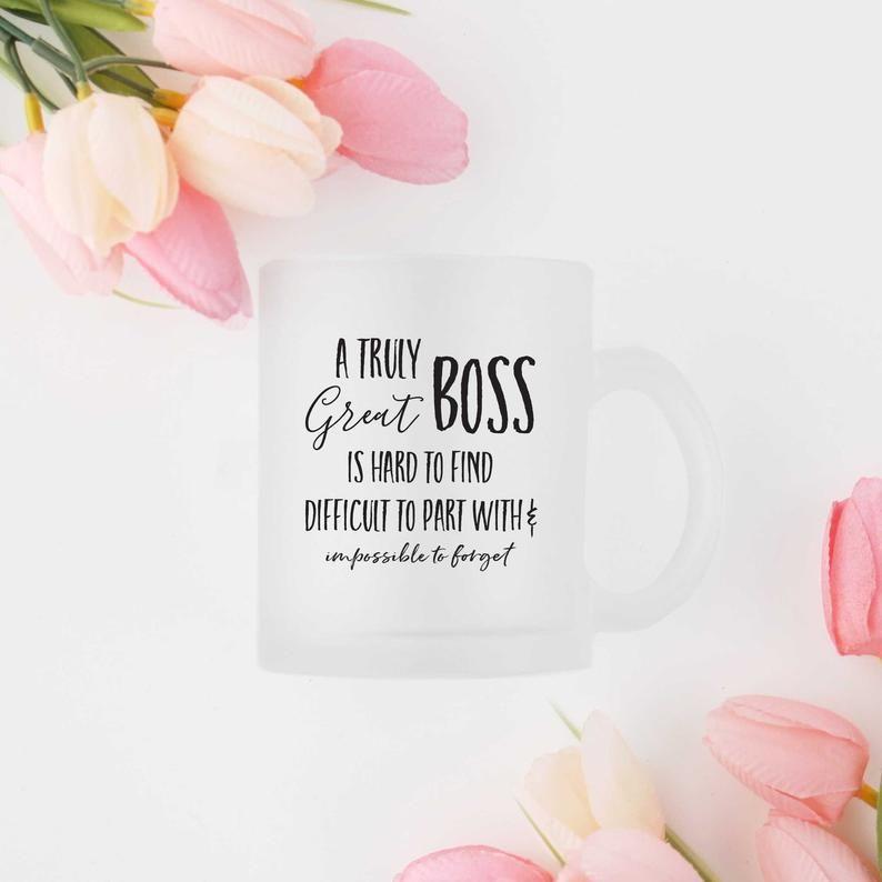 Truly Great Boss Glass Mug